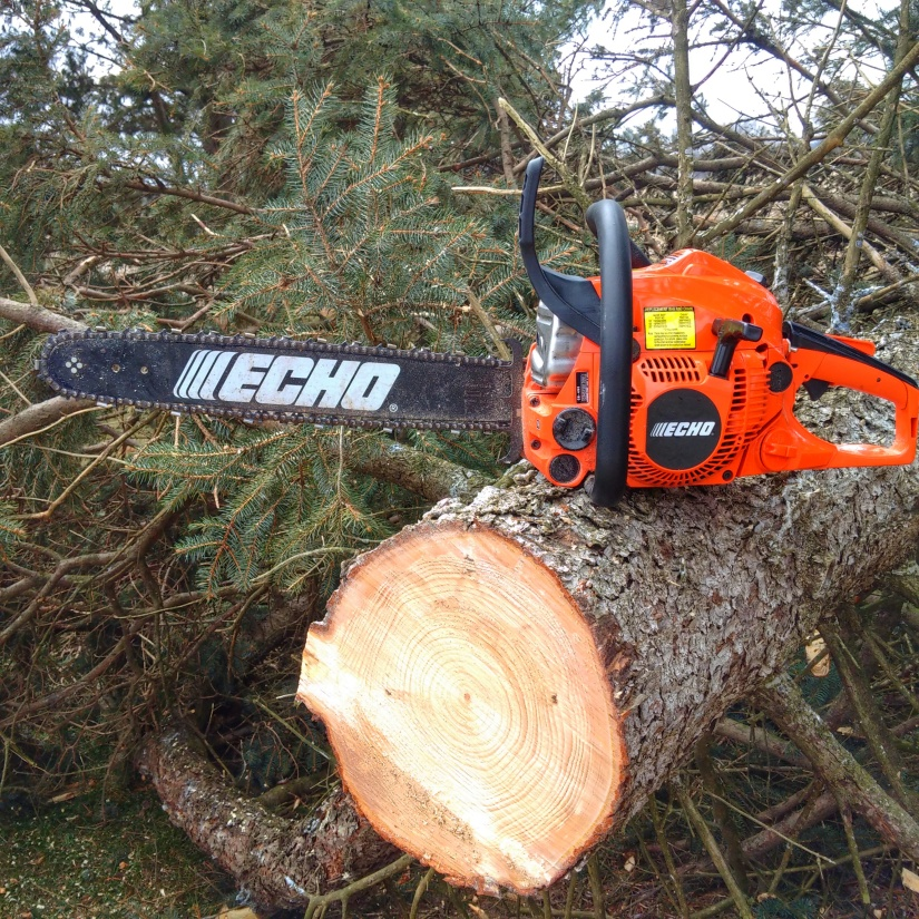 All NEW Echo CS-490 Chainsaw 1st Look
